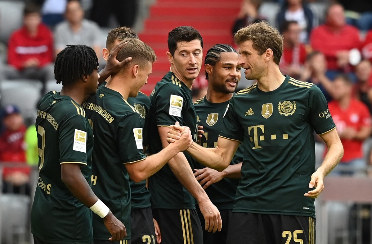 Bayern - Bochum 7-0