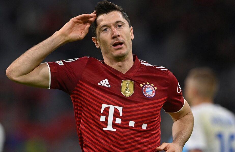 Robert Lewandowski e o mașinărie de goluri! Polonezul are cifre extraterestre pentru Bayern Munchen în 2021