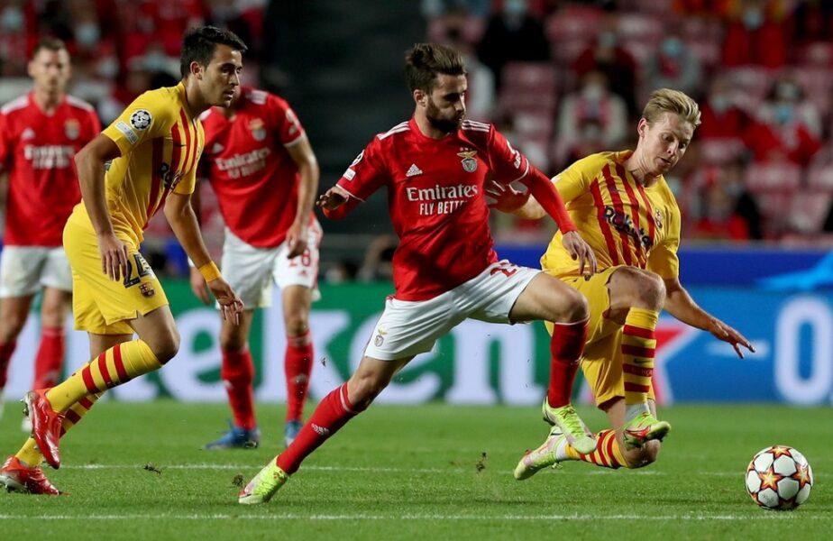 Nebunie totală! Benfica – Barcelona 3-0. Catalanii, umiliți la Lisabona. Ronaldo, erou în Manchester United – Villarreal 2-1. Juventus, victorie uriaşă cu Chelsea. Mircea Lucescu, nicio şansă în Bayern – Dinamo Kiev 5-0. Rezultatele serii