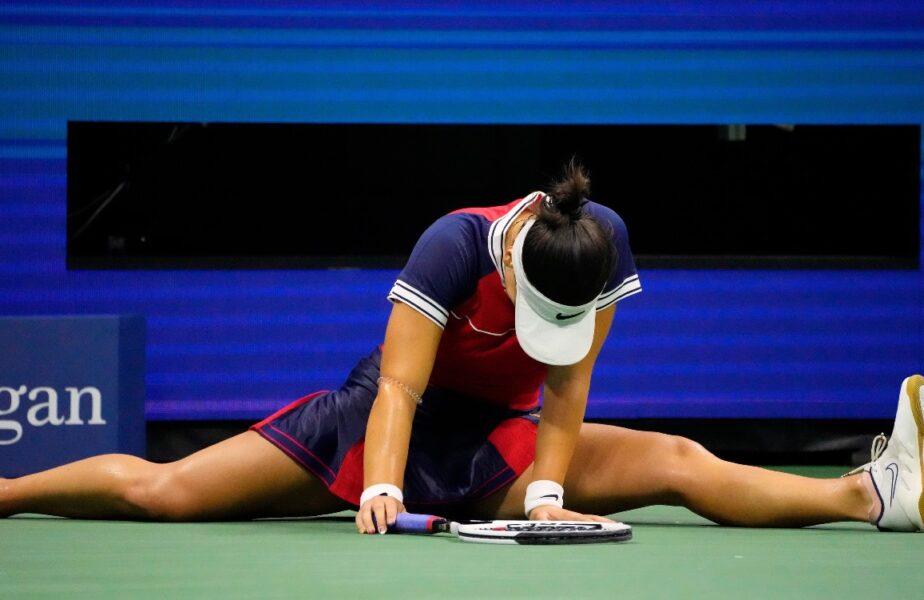 US Open | Bianca Andreescu, meci uluitor de 3 ore şi jumătate. A salvat 3 mingi de meci, într-un picior. A rămas blocată după un schimb