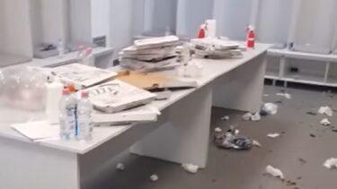 Campioni doar pe teren! Imagini șocante de la Arad. CFR Cluj a făcut haos în vestiarul celor de la UTA