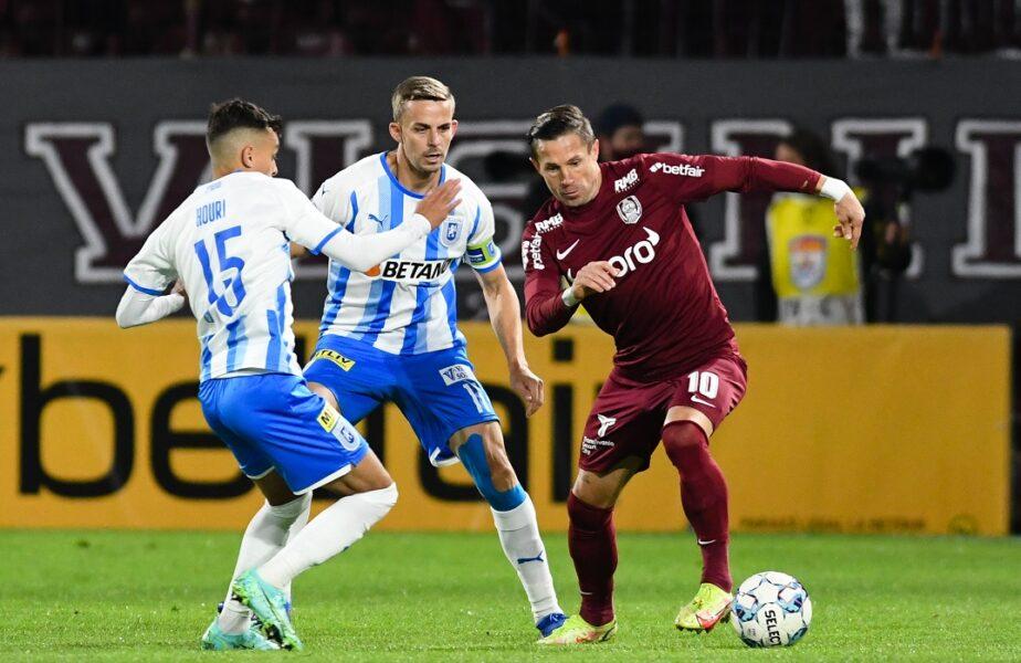 Universitatea Craiova – CFR Cluj 1-0. Oltenii și-au luat revanșa! Lyes Houri, eroul din Bănie. Echipa lui Reghecampf e în optimile Cupei României