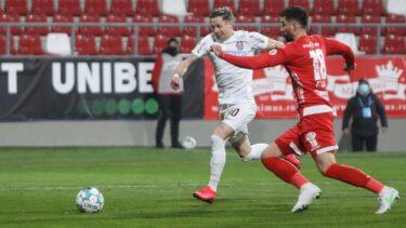 UTA – CFR Cluj 0-1. GOOOL Alex Chipciu! Atacantul lui Dan Petrescu a marcat din semi-foarfecă