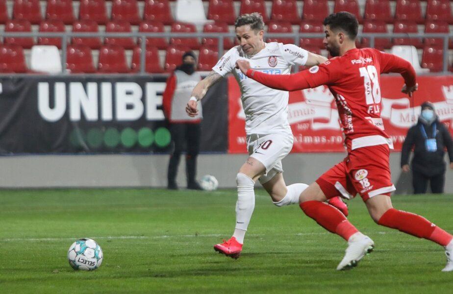 UTA – CFR Cluj 0-0. Culio, titular. Ce surprize a pregătit Dan Petrescu