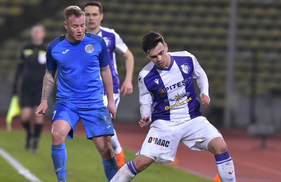 Academica Clinceni – FC Argeș 0-1. Victorie dramatică pentru echipa lui Prepeliță! Piteștenii au dat lovitura cu 5 minute înainte de final