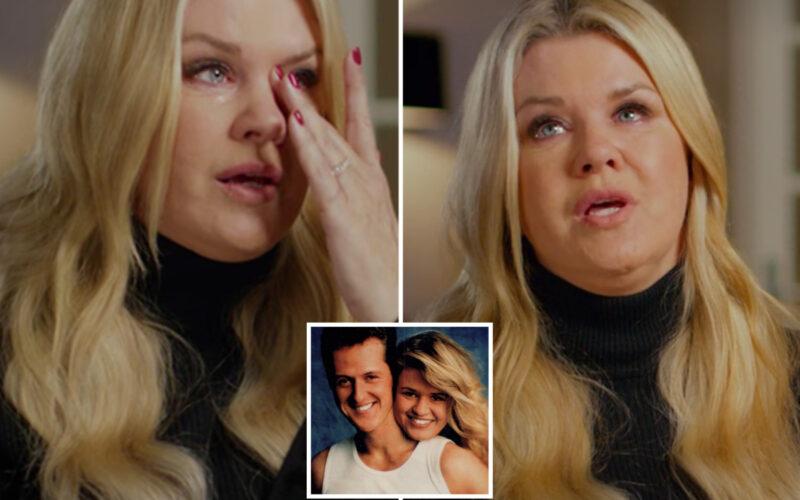 Corinna Schumacher a plâns în timpul interviului
