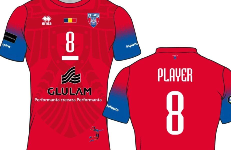 Gafă uluitoare făcută de CSA Steaua! Greşeala gramaticală care apare pe tricourile de joc