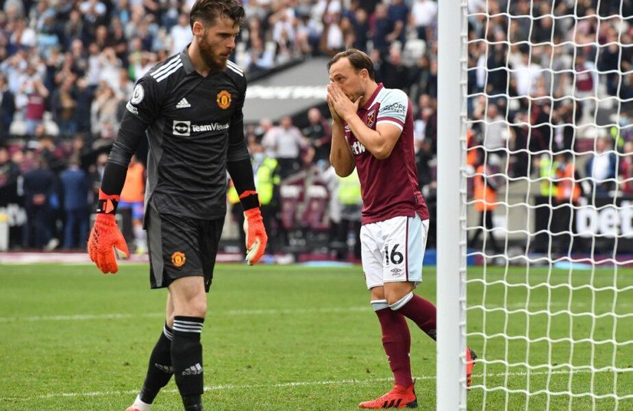 David Moyes, tactică sinucigaşă! Cum l-a făcut pe David de Gea să fie erou în West Ham – Manchester United 1-2. Meci nebun în Premier League