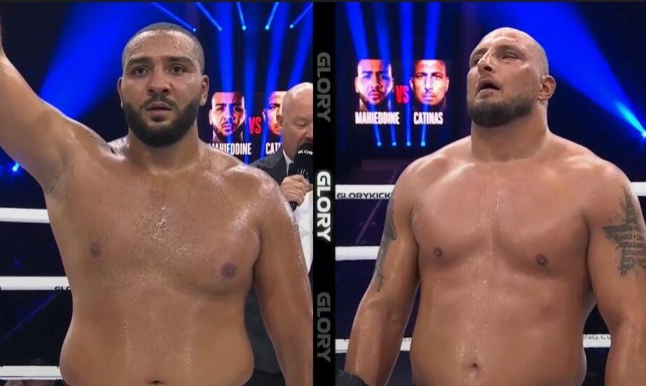 Cătinaș a pierdut la decizie meciul său de revenire în kickboxing. Acesta a fost învins de Nordine Mahieddine.