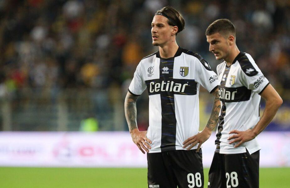 """Dennis Man și Valentin Mihăilă, puși la zid de italieni după Reggina – Parma 2-1: """"Nervos și egoist, deci e inutil!"""" / """"Doar șutează, asta e tot!"""""""
