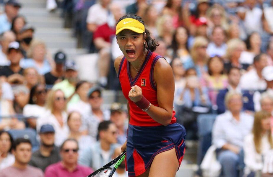 US Open 2021 | Emma Răducanu – Leylah Fernandez 6-4, 6-3! FABULOS. Emma Răducanu a intrat în istoria tenisului! A câștigat US Open fără set pierdut. Performanță ULUITOARE a jucătoarei cu origini românești