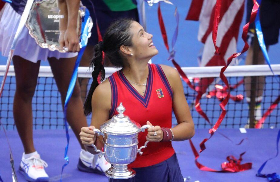 """Schimbări importante în clasamentul WTA! """"Invincibila"""" Emma Răducanu, urcare spectaculoasă după succesul istoric de la US Open. Ce loc ocupă Simona Halep"""