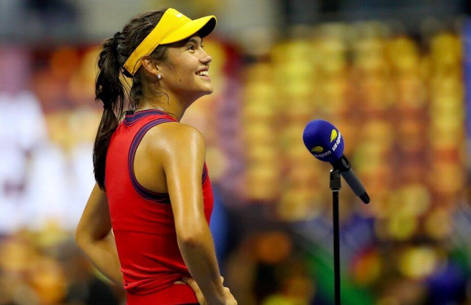 """""""Uraganul"""" Emma lovește America. """"Fericire pură!"""". Prima reacție a Emmei Răducanu după ce a scris istorie la US Open: """"Mi-am îndeplinit un vis!"""""""
