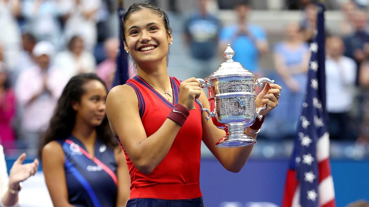 Emma Răducanu a scris istorie la US Open