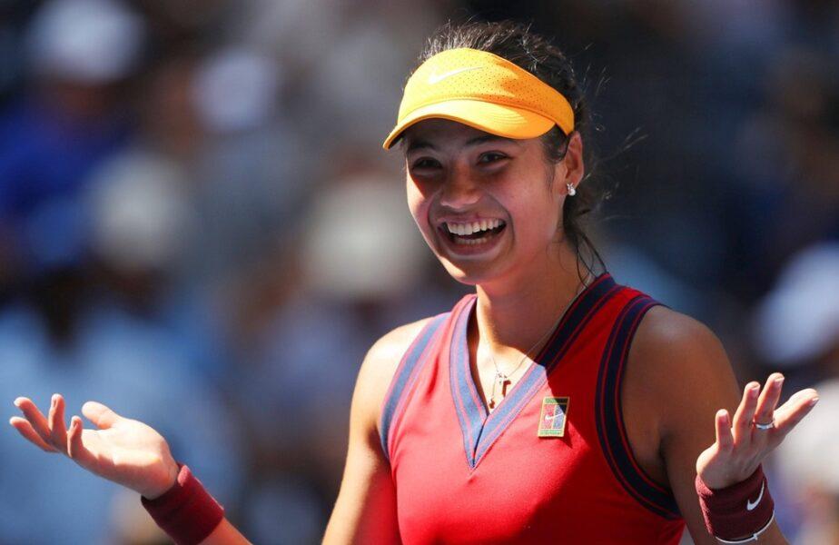 Pe ce loc urcă Emma Răducanu după ce s-a calificat în semifinalele US Open 2021. Tânăra de 18 ani va câştiga o avere!