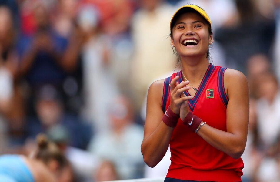 """Emma Răducanu scrie istorie la US Open! Noua senzație a tenisului mondial a ajuns în sferturi: """"Sunt surprinsă că sunt aici!"""""""