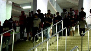Fanii lui Dinamo au plecat la scorul de 6-0