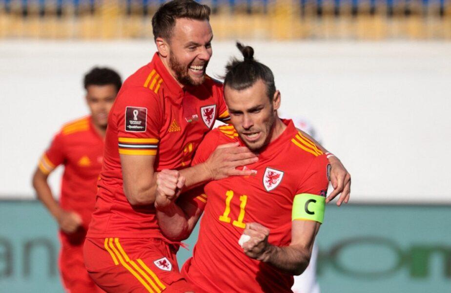 """Gareth Bale, show total în Belarus – Ţara Galilor 2-3! Căpitanul """"dragonilor"""" a reuşit un hat-trick de senzaţie"""