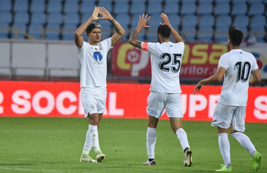 Rapid – Gaz Metan Mediaş 1-2 | Ilie Poenaru, debut perfect! Vlad Morar, gol de trei puncte după ce l-a executat pe Horaţiu Moldovan cu un lob superb