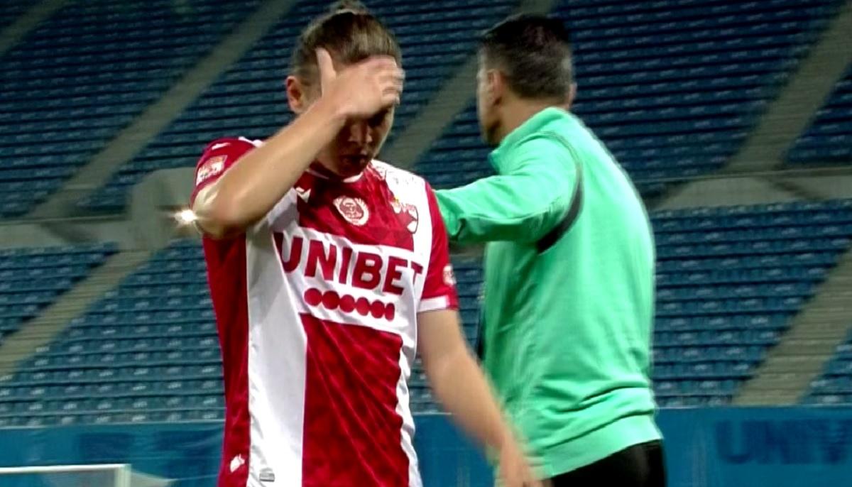Deniz Giafer, eliminat în Universitatea Craiova - Dinamo