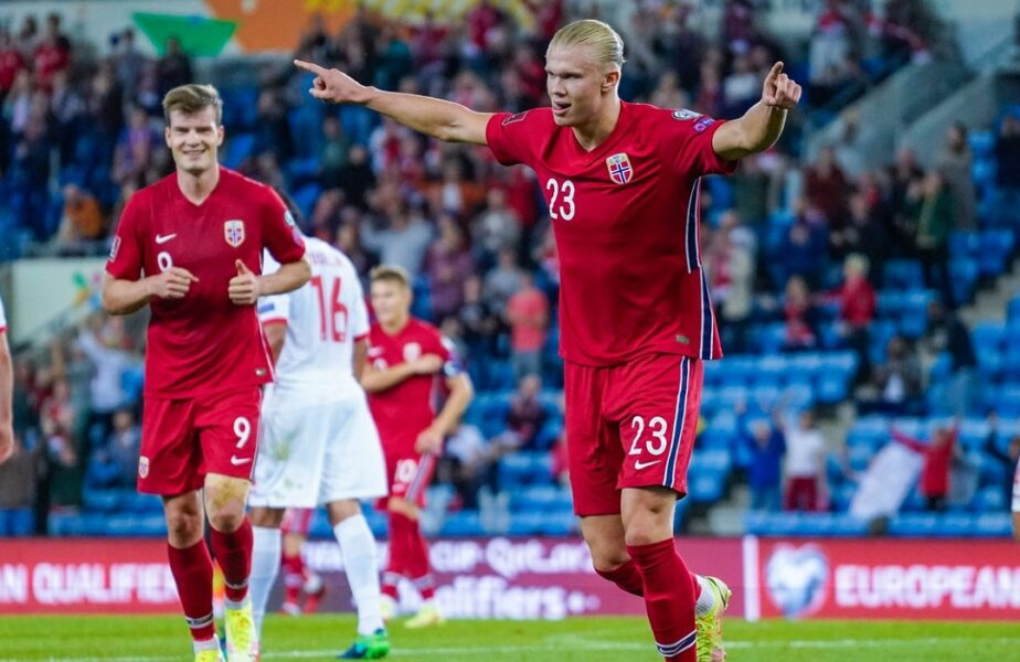 Erling Haaland, maşinărie de goluri! Superstarul norvegian a reuşit un hat-trick de senzaţie în Norvegia – Gibraltar 5-1. Cifrele incredibile ale atacantului
