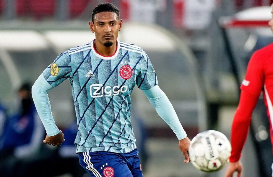 Sebastian Haller, debut de vis în Champions League! Atacantul a înscris de 4 ori în Sporting – Ajax 1-5. A egalat recordul legendarului van Basten
