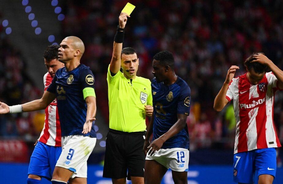 Champions League | Scandal uriaș provocat de Ovidiu Hațegan în Atletico Madrid – FC Porto 0-0! Românul a anulat un gol pentru un henț incredibil și a dictat o eliminare