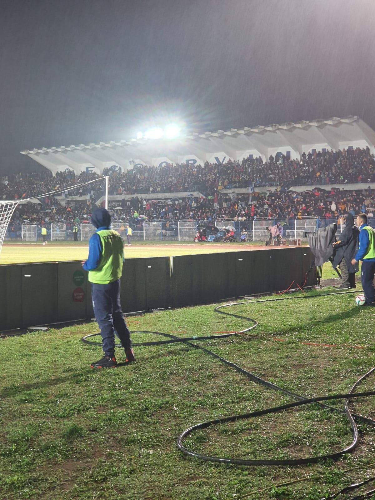 Atmosferă de poveste la CS Hunedoara - FCSB