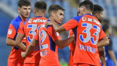 CS Hunedoara – FCSB 0-2. Ianis Stoica a înscris din nou pentru roş-albaştri! Răzvan Oaidă, gol superb cu o lovitură de cap incredibilă
