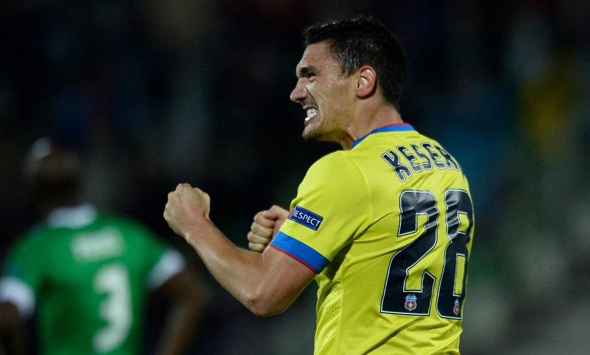 FCSB – Dinamo | Ce revenire! Claudiu Keşeru a deschis scorul în derby cu o execuţie superbă din lovitură liberă. Nu i-a dat nicio şansă lui Eşanu!