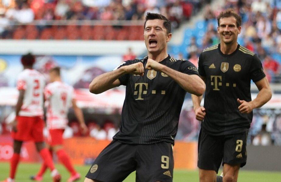 """""""Maşinăria de goluri"""" Robert Lewandowski a lovit din nou! Superstarul polonez a marcat în Bayern – Bochum 7-0 şi a scris istorie în Bundesliga"""