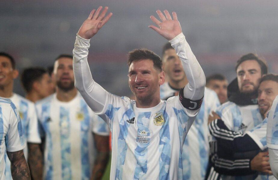 """Lionel Messi, hat-trick fabulos în Argentina – Bolivia 3-0. Starul """"pumelor"""" l-a depăşit pe Pele! A stabilit un record URIAŞ şi a izbucnit în plâns!"""