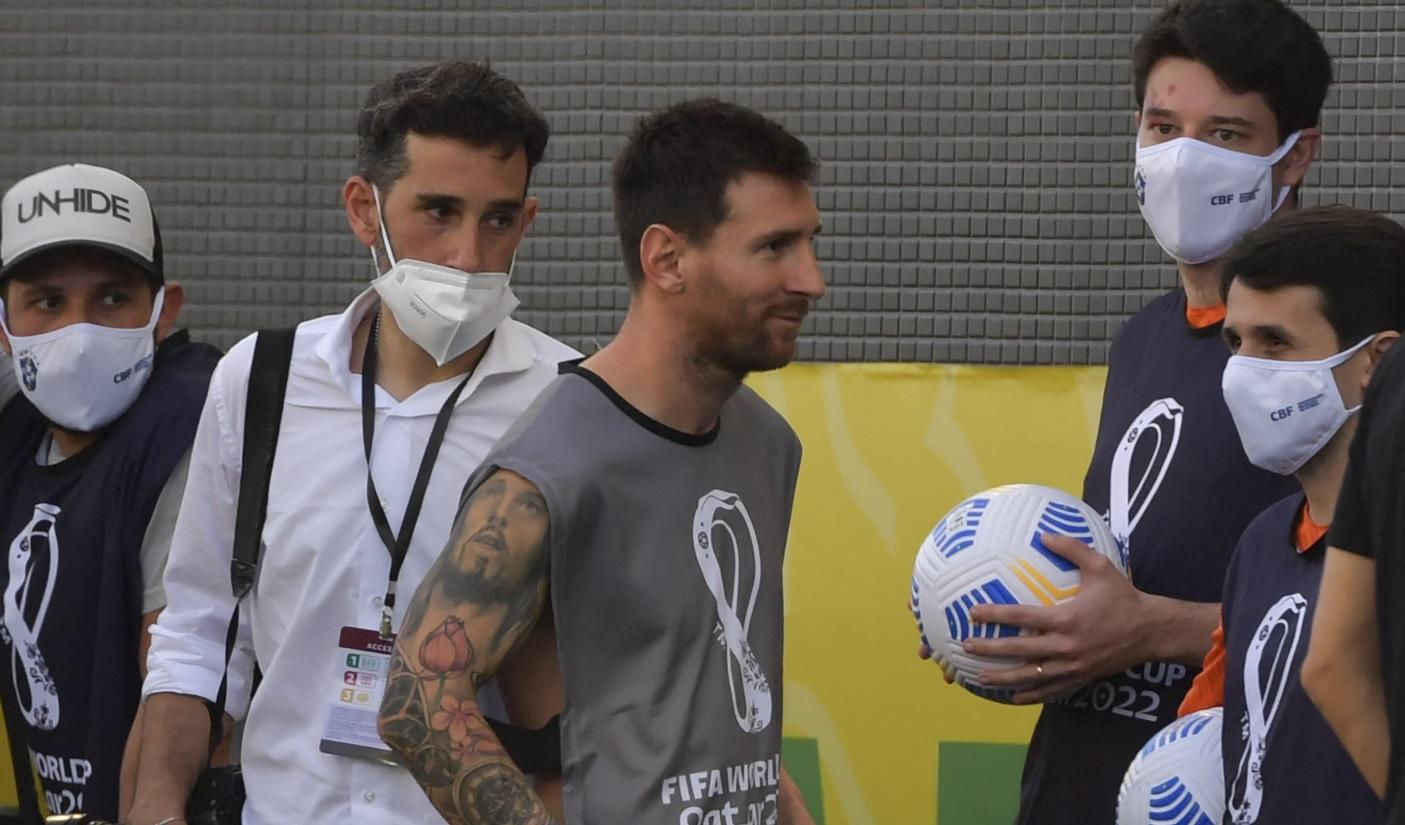 Lionel Messi a rupt tăcerea