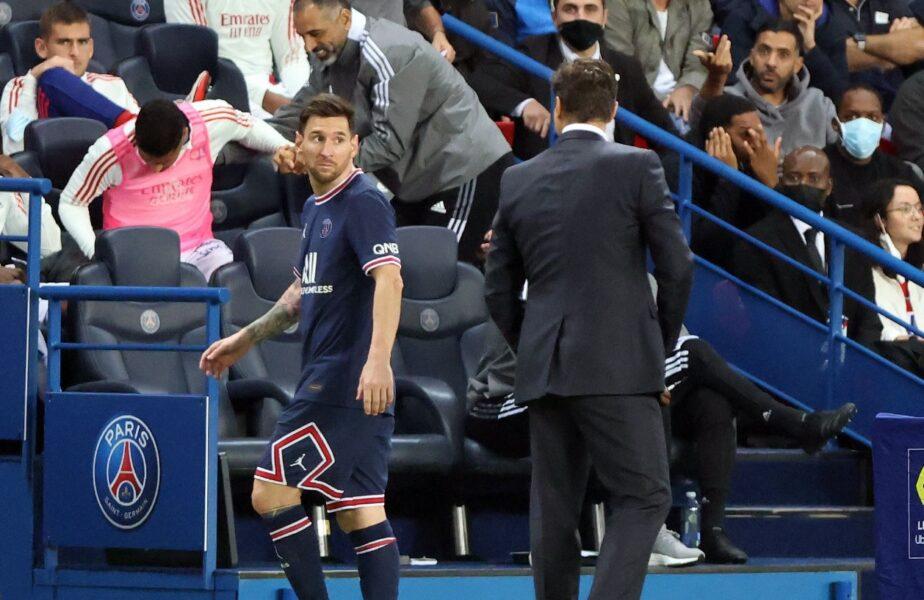 """O nouă reacţie în scandalul dintre Lionel Messi şi Mauricio Pochettino! """"Eu cred că Messi nu va uita gestul. Nu scoţi de pe teren un sextuplu câştigător al Balonului de Aur"""""""