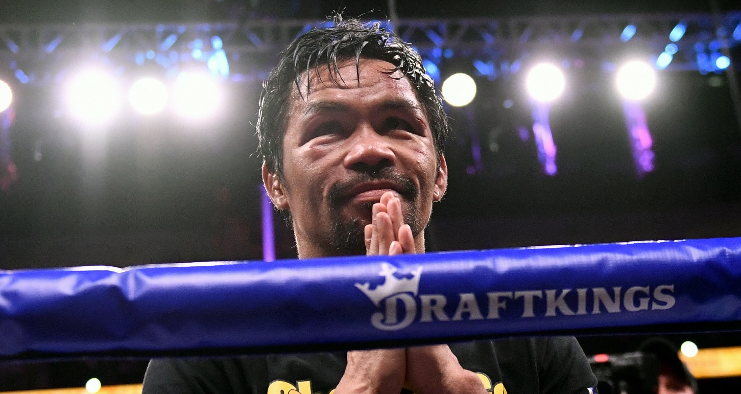 Manny Pacquiao şi-a anunţat retragerea.
