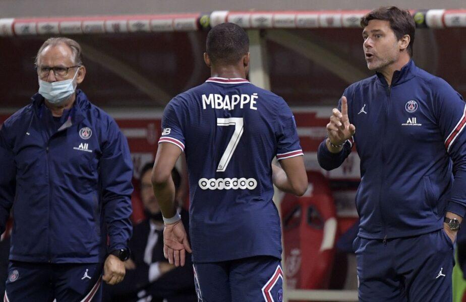 """Mauricio Pochettino, prima reacţie după scandalul dintre Kylian Mbappe şi Neymar. """"Am vorbit cu ei, acest subiect a făcut zgomot"""". Ce a spus despre revenirea lui Messi!"""