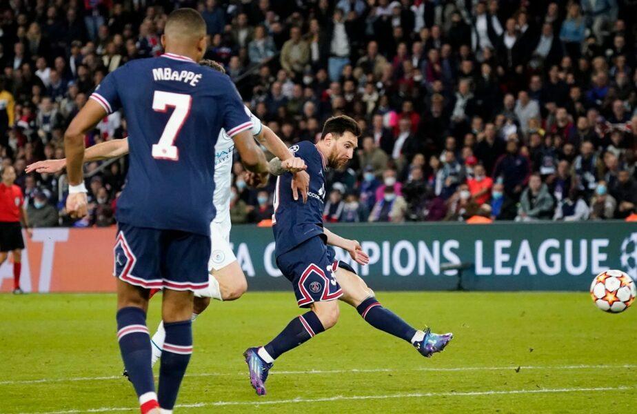 Lionel Messi, primul gol în tricoul lui PSG! Superstarul argentinian a declanşat nebunia pe Parc des Princes după ce a marcat superb împotriva lui Manchester City