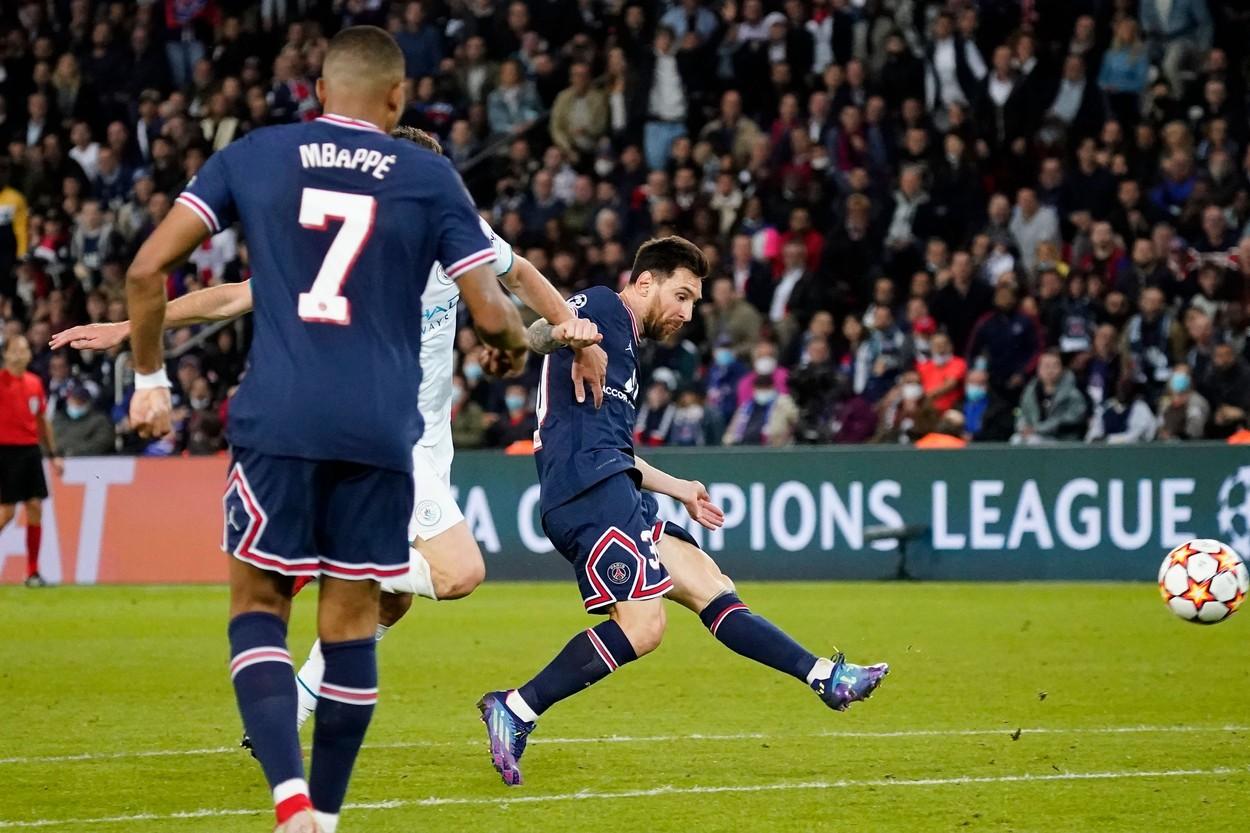 Lionel Messi, primul gol în tricoul lui PSG