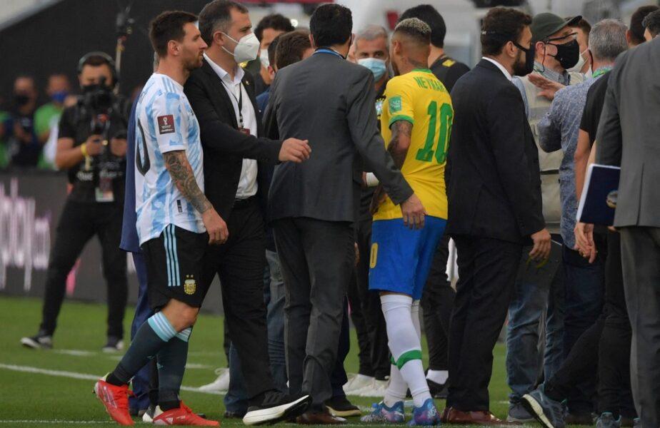 """Imaginile momentului! Lionel Messi, acuzaţii dure după scandalul monstru din Brazilia – Argentina: """"Așteptau să începem meciul pentru a-l opri?"""""""