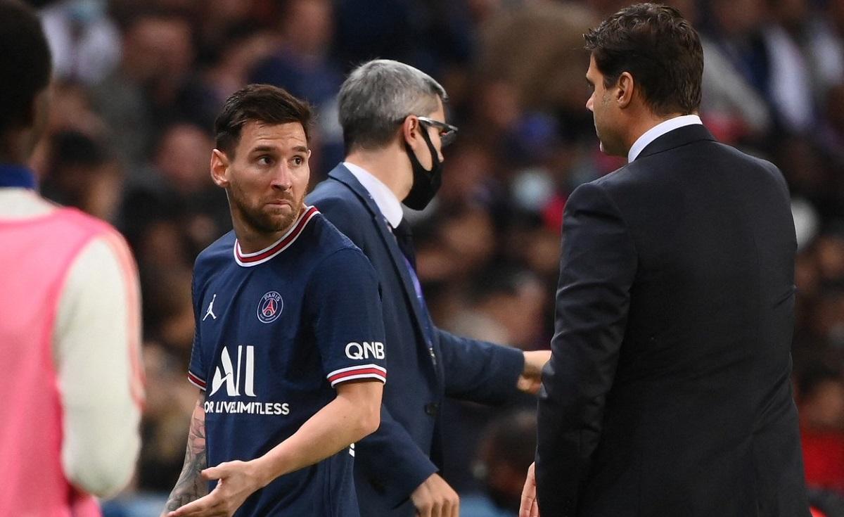 Mauricio Pochettino şi Lionel Messi