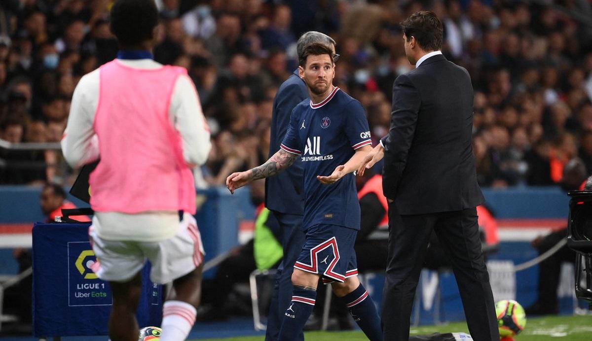 Lionel Messi a fost schimbat în minutul 76