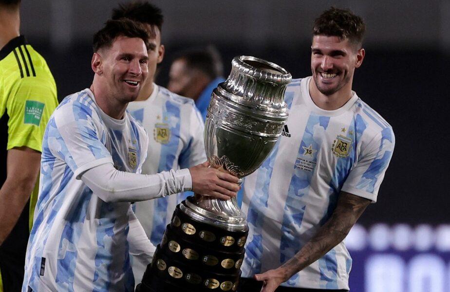 """Lionel Messi, declaraţii printre lacrimi după ce a scris o nouă pagină de istorie. """"Visam de mult timp la asta, e un moment unic!"""""""