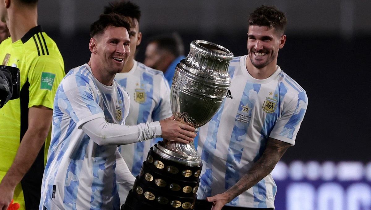 Lionel Messi, bucurie de nedescris în faţa fanilor