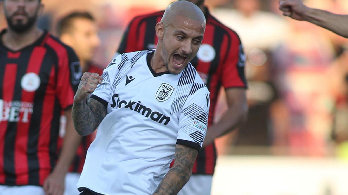 Alexandru Mitriță, primul gol la PAOK