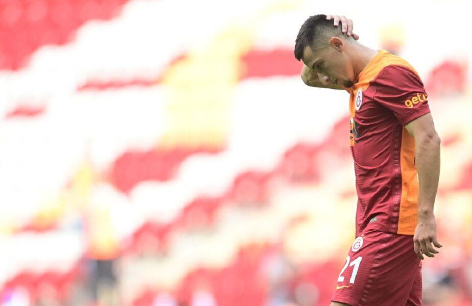"""Olimpiu Moruţan are zilele numărate la Galatasaray. Nu l-a convins pe Fatih Terim. """"Va fi împrumutat la iarnă"""". Unde ar putea ajunge internaţionalul român"""