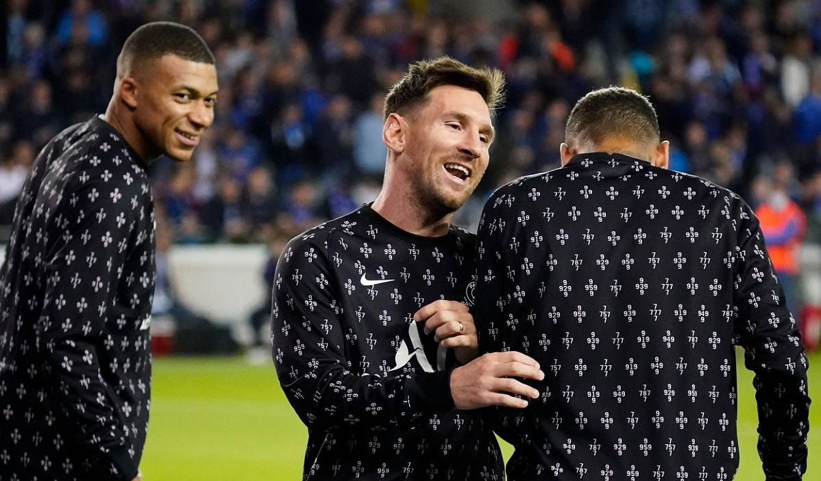 Kylian Mbappe, Lionel Messi şi Neymar