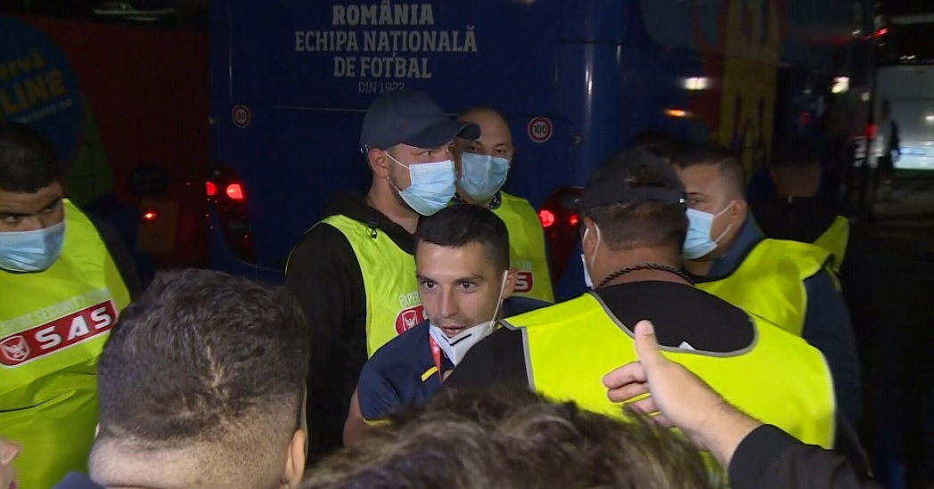 Nicolae Stanciu, momente tensionate cu fanii după meci