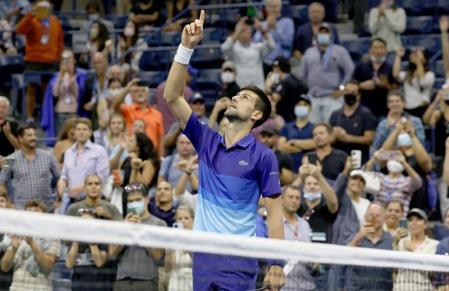 Novak Djokovic, la două victorii de două recorduri istorice! L-a bătut pe Berrettini în sferturi, la US Open