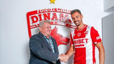 """Andre Pinto, primele declarații după ce a semnat cu Dinamo. """"Sunt un alt jucător venit să ajute echipa!"""" Ce număr va purta"""