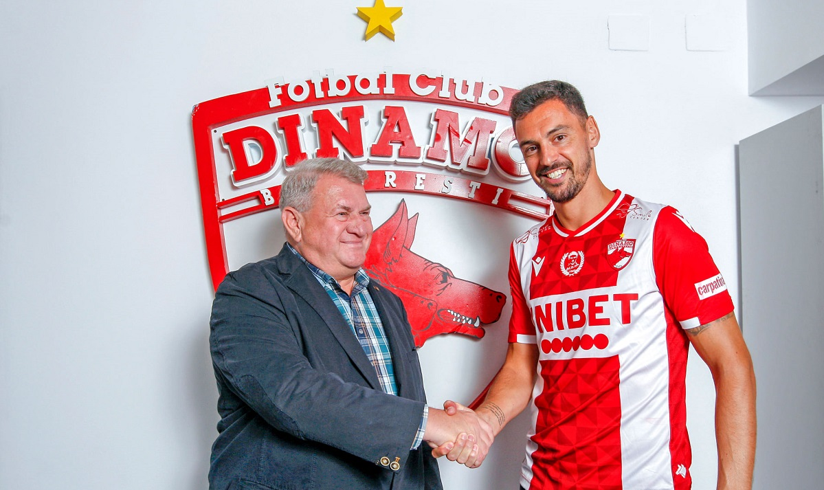 Andre Pinto, primele declarații după ce a semnat cu Dinamo